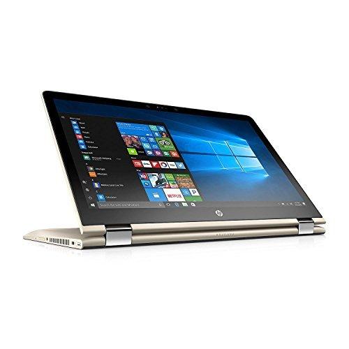 HP Pavilion X360 2-in-1 Touchscreen Convertible Full HD IPS 15.6 Notebook Intel Core i7-8550U Processor 8GB Memory 1TB Hard Drive 2GB Radeon DSC 530 HD Wide FOV Webcam Backlit Keyboard Gold [並行輸入品] B07HRM1MZF