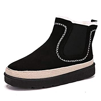 0e344528fb74d1 Amazon.com  Best Quality Hah Winter Women Ankle Boots Non-Slip Warm ...