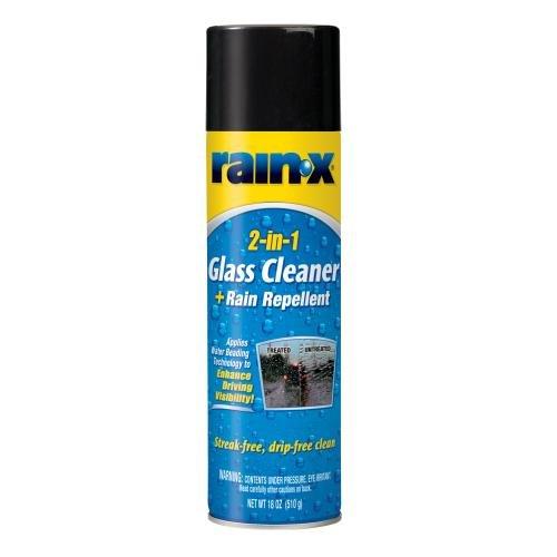 Rain Repellent (Rain-X 5080233 2-In-1 Glass Cleaner Plus Rain Repellent)