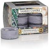 Yankee Candle Lavender Vanilla Tea Light Candles, Fresh Scent