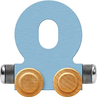product image for Maple Landmark NameTrain Pastel Letter Car O - Made in USA (Blue)