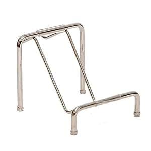 Dasein Clutch Purse Handbag Metal Display Stand Rack- silver