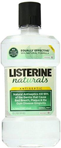 Listerine Nat Antsptc Hrb Size 33.8z Listerine Naturals Anitiseptic Herb/Mint - Nat Shopping
