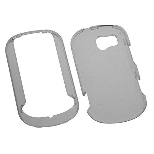 MYBAT LGVN271HPCTR010NP Durable Transparent Case for LG Extravert N271-1 Pack - Retail Packaging - Smoke