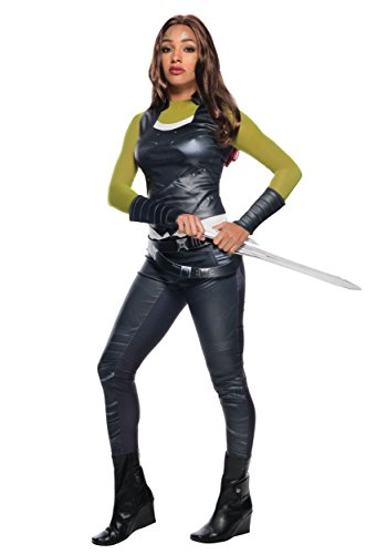 Guardians Costumes (Secret Wishes Women's Guardians of the Galaxy Gamora Costume, Gotg Vol. 2, Small)