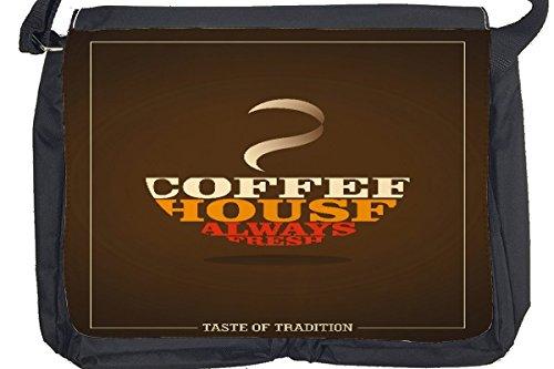 Borsa Tracolla Fun Cucina Coffee House Stampato