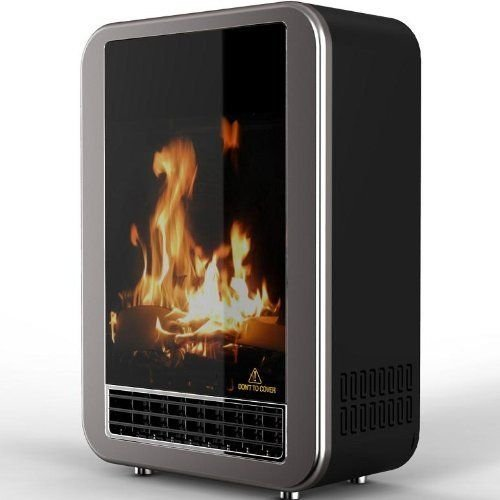 Syntrox Germany SK-4 Mini Fireplace with Integrated Humidifier