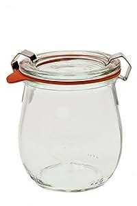 Weck 762 Jelly Jar - 1/5 Liter, Set of 6