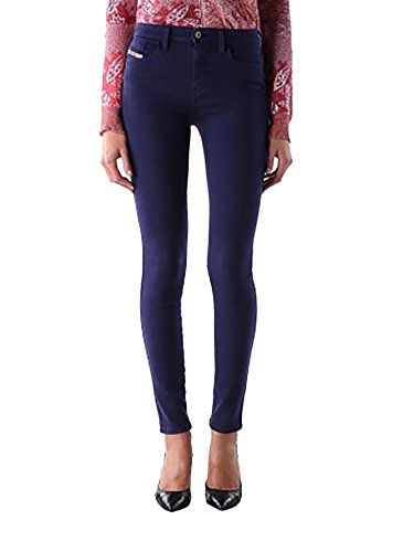 Diesel Skinzee Super Skinny Stretch Jean Wash 0851W (Medium Blue, 26) (Diesel Mid Rise Jeans)