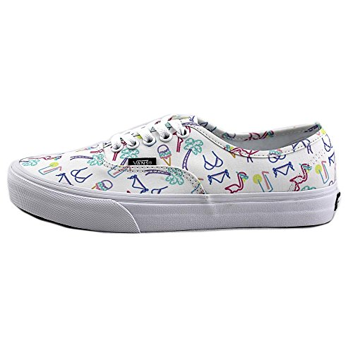 Sneakers Lights Womens True White Authentic Tropical Vans White True Tropical Neon qIgExyP