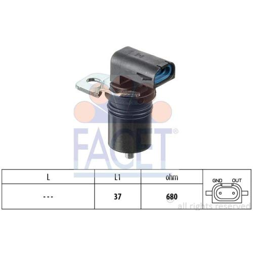 Revolution And Timing Sensors CKP And CMP Facet 9.0321