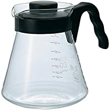 Hario V60 Glass Coffee Server (1000ml, Black)