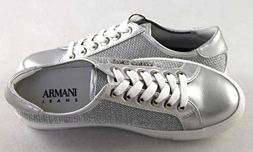 Zapatillas plata para Armani 9252087p597 Mujer SnAxwHq5XY