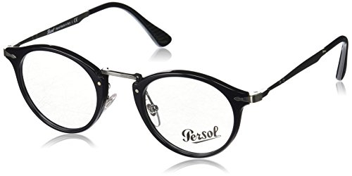 Persol - CALLIGRAPHER EDITION PO 3167V, Rondes, acétate, homme, BLACK(95), 49/22/145