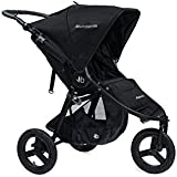Bumbleride 2016 Indie Stroller with SPF 45 Sun Canopy Extension (Matte Black)
