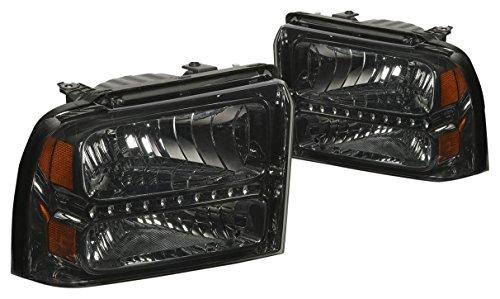 DNA Motoring HL-OH-FSD05-LED-SM-AM Headlight Assembly (Driver and Passenger Side)