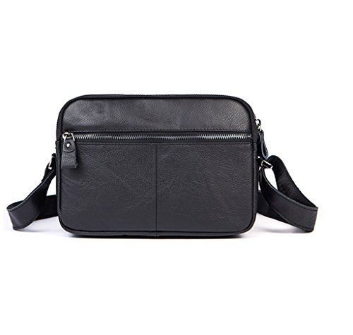 Shoulder Capacity Design Leather Sucastle Men's Vintage Briefcases Messenger Large 1 Bags zCBCEqw0nx