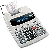 Calculadora de mesa com 12 dígitos, calendário, relógio e impressão de data MR-6124, Elgin, 42MR61240000, Gelo