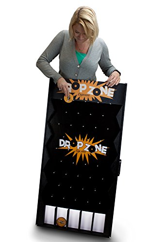 MIDWAY MONSTERS Drop Zone Express | Portable, Customizable Carnival Game -