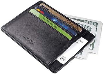 Herren Geldbeutel Portemonnaie Leder Kredit Kartenetui Geldbörse Brieftasche