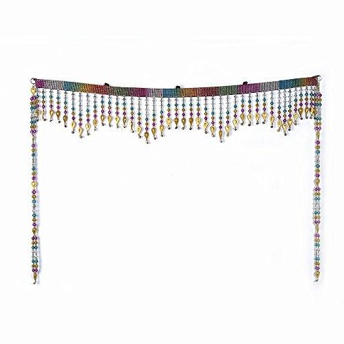 Little India Colorful Glass Crystal Bandanwar Door Hanging 294