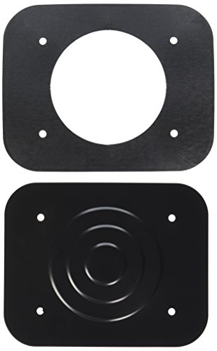 PDP Bass Drum Mount Cover Plate Black - Black Pacific Tom Drum