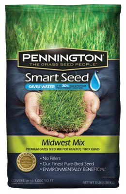 Smart Seed Smart Seed Midwest 1000 Sq. Ft. 3 Lb.