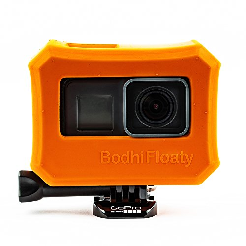 Bodhi Floaty Case, Orange for GoPro HERO 6, HERO 5 Black and HERO 2018 by Bodhi Floaty