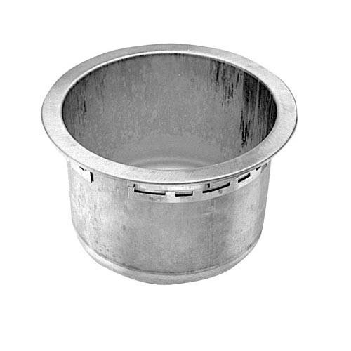 Star Mfg STAR MFG WS-50391 Pot For Ss8 No Drain 8-1/4'' Id 10-1/16'' Od Wells Oem Part/Model 262254 Ws-50391 by Star