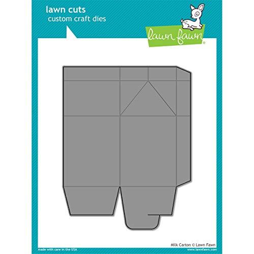 Lawn Fawn Custom Craft Dies - Milk Carton die