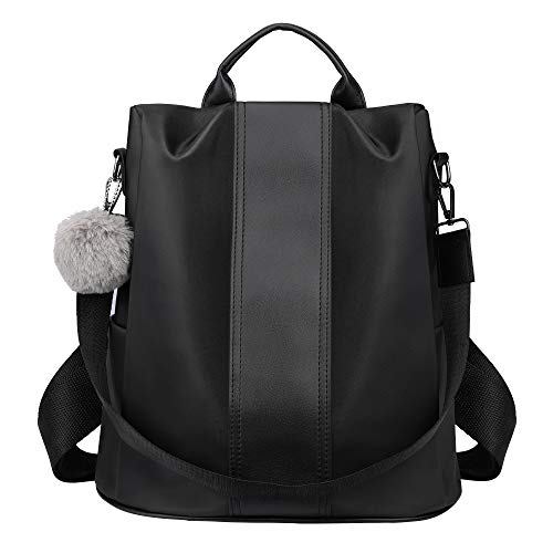 SAMSHOWME Women Backpack Purse shoulder Bag Nylon Waterproof Anti-theft School Bags for ()