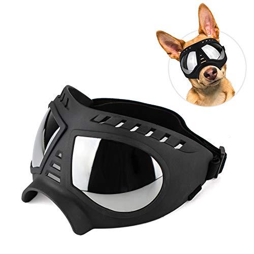 LIFEUNION 개 고글 조정 가능한 안티-먼지   헤이즈   바람   눈 대형 프레임 UV 보호 고글 선글라스 중간 대형 개