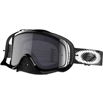 83967cf12d Amazon.com  Oakley Crowbar MX Speed Adult Dirt MotoX Off-Road Dirt Bike  Motorcycle Goggles Eyewear - Jet Black Dark Grey One Size Fits All   Automotive