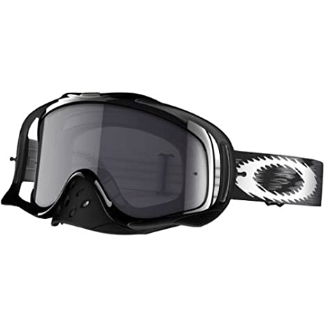uusi ulkonäkö Viimeisin herkät värit Oakley Crowbar MX Speed Adult Dirt Motox/Off-Road/Dirt Bike Motorcycle  Goggles Eyewear - Jet Black/Dark Grey/One Size Fits All