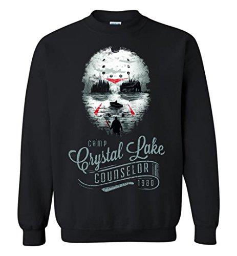 Halloween Jason Voorhees - Camp Crystal Lake Counselor Adult/Youth Sweatshirt -