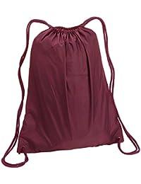 Large Nylon Drawstring Backpack