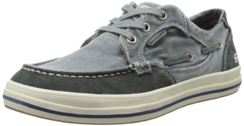 Skechers Usa Mens Koppla Fit Diamond Leroy Mode Sneaker Navy
