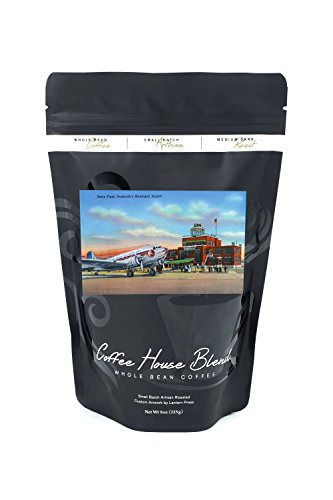 Nashville, Tennessee - View of Berry Field, Nashville's Municipal Airport (8oz Whole Bean Small Batch Artisan Coffee - Bold & Strong Medium Dark Roast w/ - Nashville Airport Tennessee