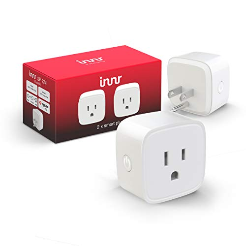 Innr Zigbee Smart Plug, Works with Philips Hue, SmartThings, Alexa, Google Home (Hub Required) SP 224 (2-pack)