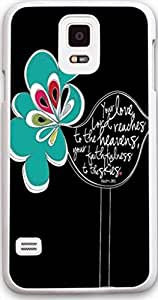 Dseason Samsung galaxy S5 case, High Quality Unique Design Protector quotes Cartoon Bird by ruishername