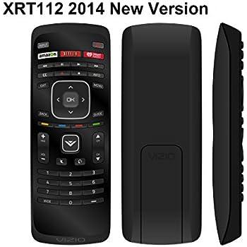 vizio tv remote. new xrt112 2014 lcd led tv remote control w amazon netlix iheart radio app key fit vizio tv