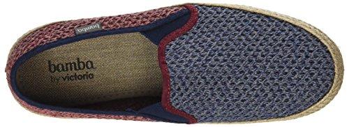 Copete Rejilla Wamba Baskets Mixte Bicolor Victoria by Bleu Adulte Marino Elásticos RqHcfwR1p