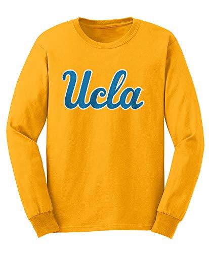low priced d81d9 82ee7 Elite Fan Shop NCAA Men s Ucla Bruins Long Sleeve Shirt Team Icon Ucla  Bruins Gold XX