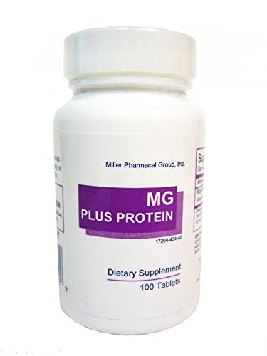 Miller Mg Plus Protein Magnesium 100 Tablets
