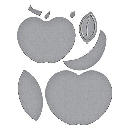 Spellbinders Etched/Wafer Thin Dies, Apple-Pumpkin