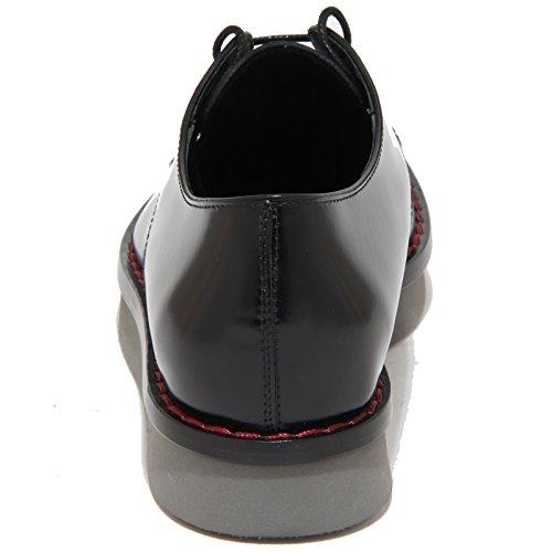 Tod's Shoes Donna Scarpe 9235n Gomma Allacciata Woman Scarpa Nero Xl Wx Derby xZgpxr