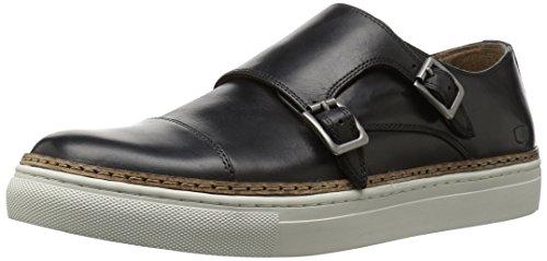 Double Strap Sneakers (Florsheim Men's Pivot Double Monk Strap Sneaker, Black, 9.5 M US)