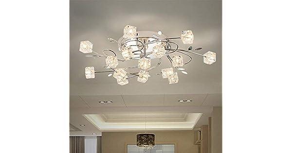 Amazon.com: BOSSLV Lámpara de techo moderna con diseño ...