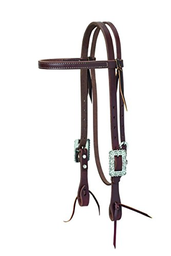 Weaver Leather Working Tack Browband Headstall, Scalloped ()