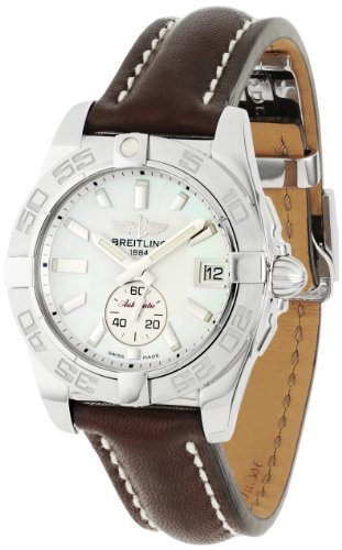 Breitling Men's A3733011/A716 Windrider Galactic 36 Mother Of Pearl Dial Watch
